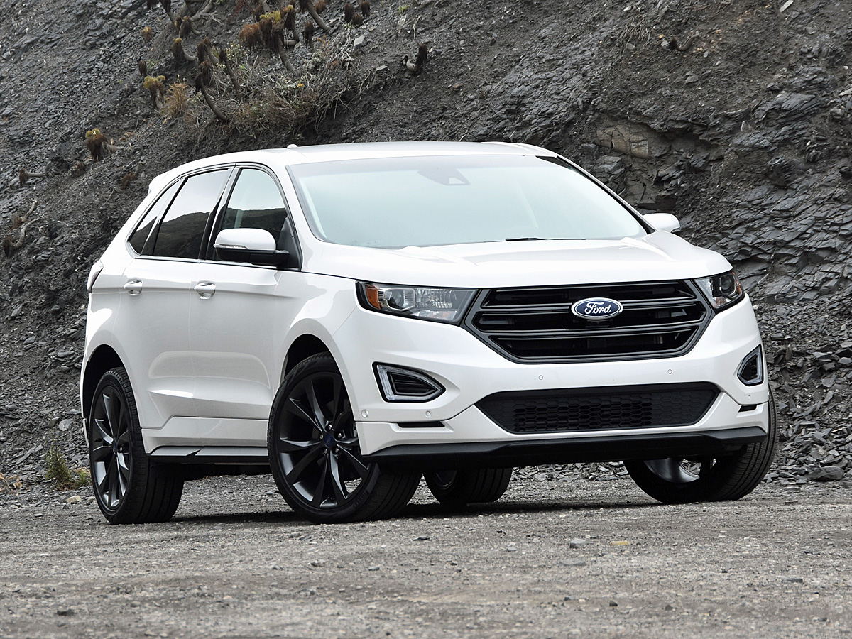 2017 Ford Edge Sport White