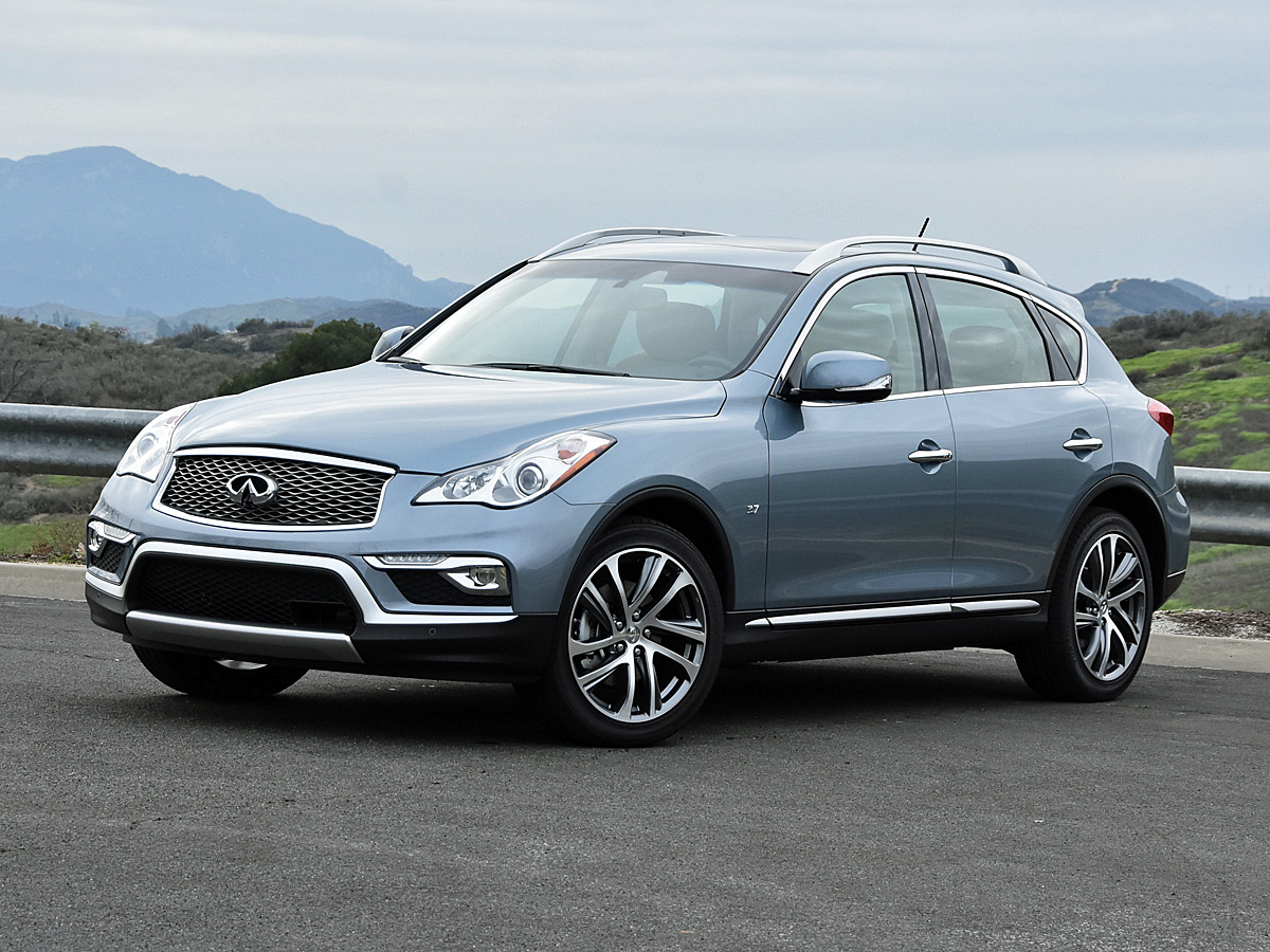 2017 Infiniti QX50 in Hagane Blue