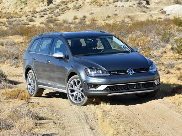 2017 Volkswagen Golf Alltrack Gray Off-Road