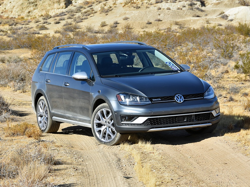 2017 Volkswagen Golf Alltrack Gray Off-Road