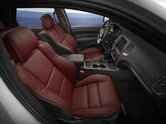 2018 Dodge Durango Demonic Red Laguna leather