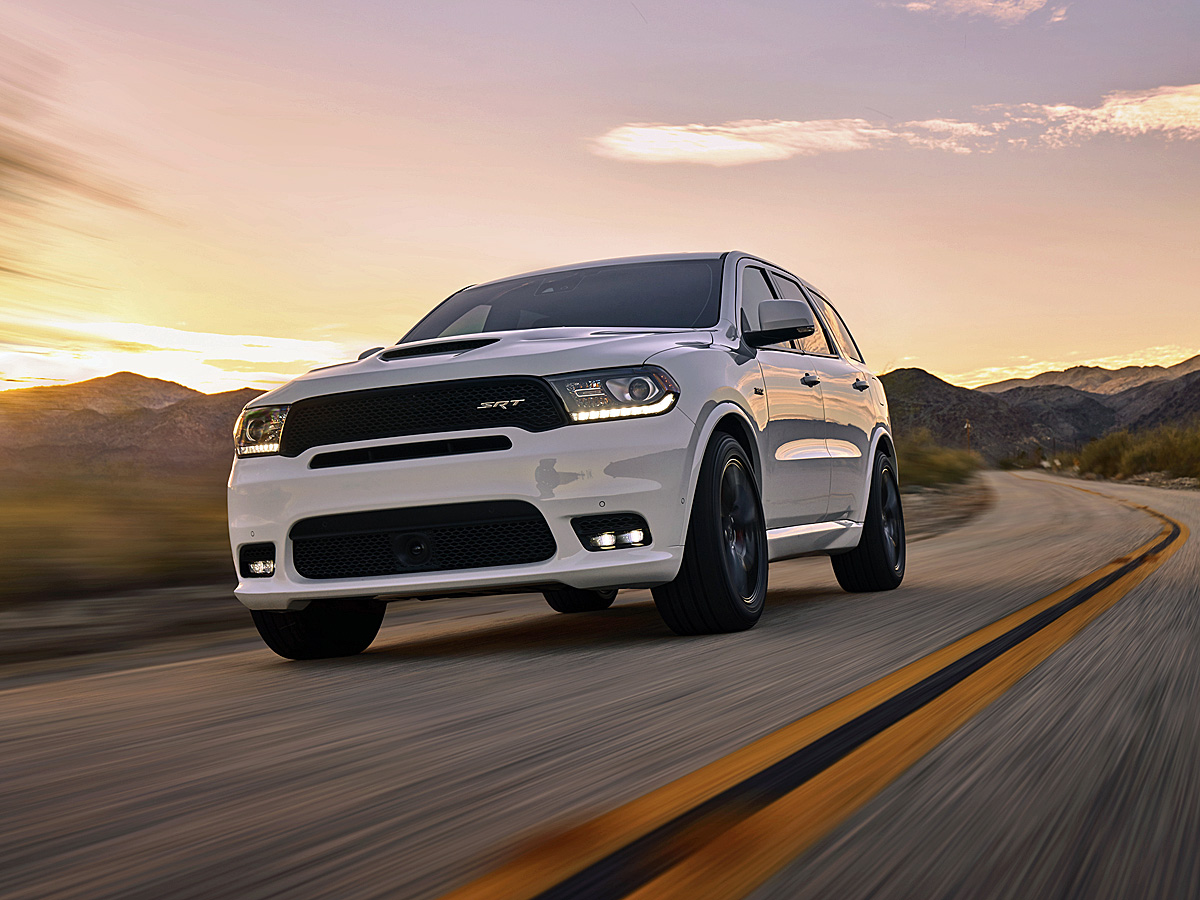 2018 Dodge Durango SRT White