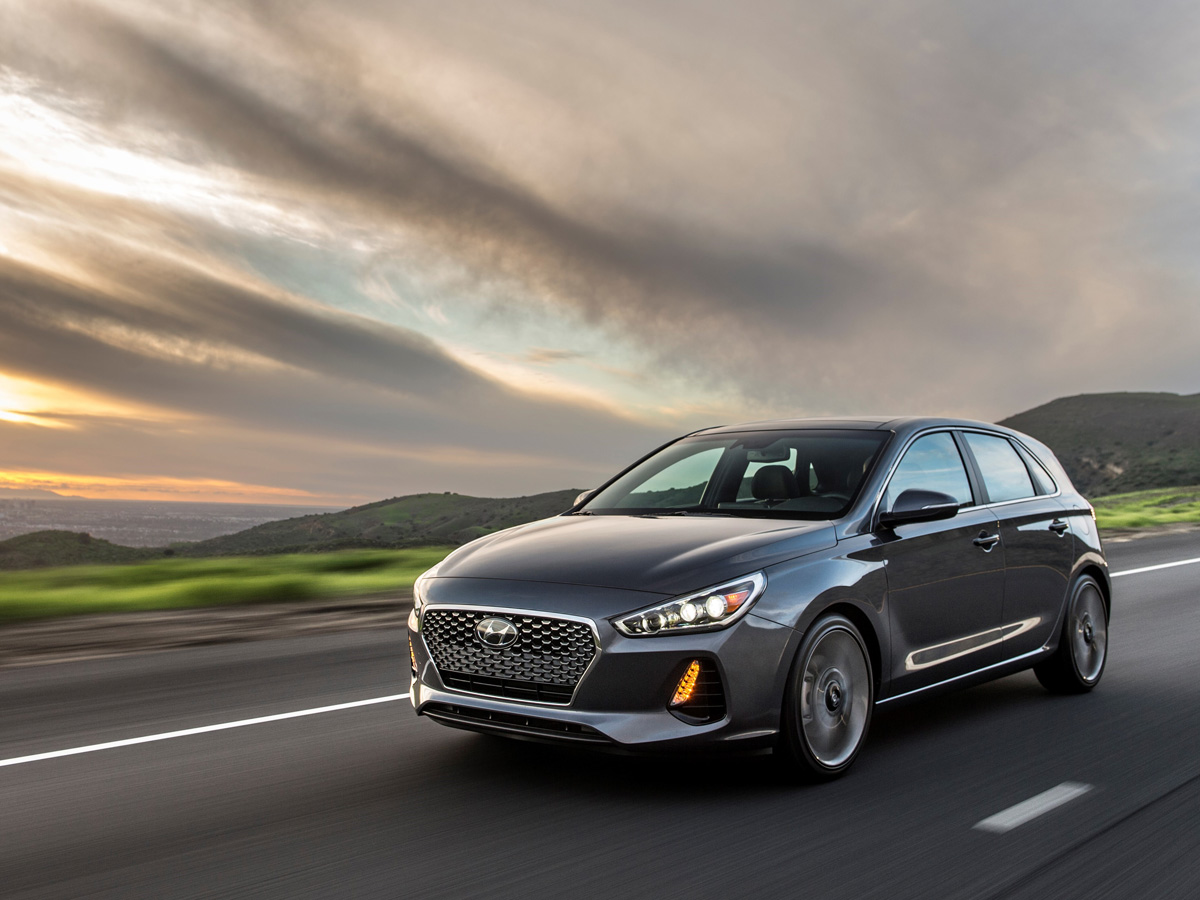 Redesigned 2018 Hyundai Elantra GT Sport Speeds to the Border of GTI Territory