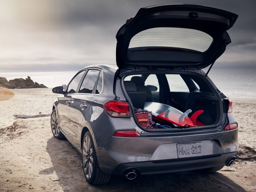 Hyundai Elantra GT Sport cargo space