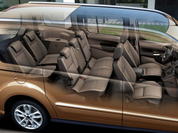 Ford Transit Connect seating