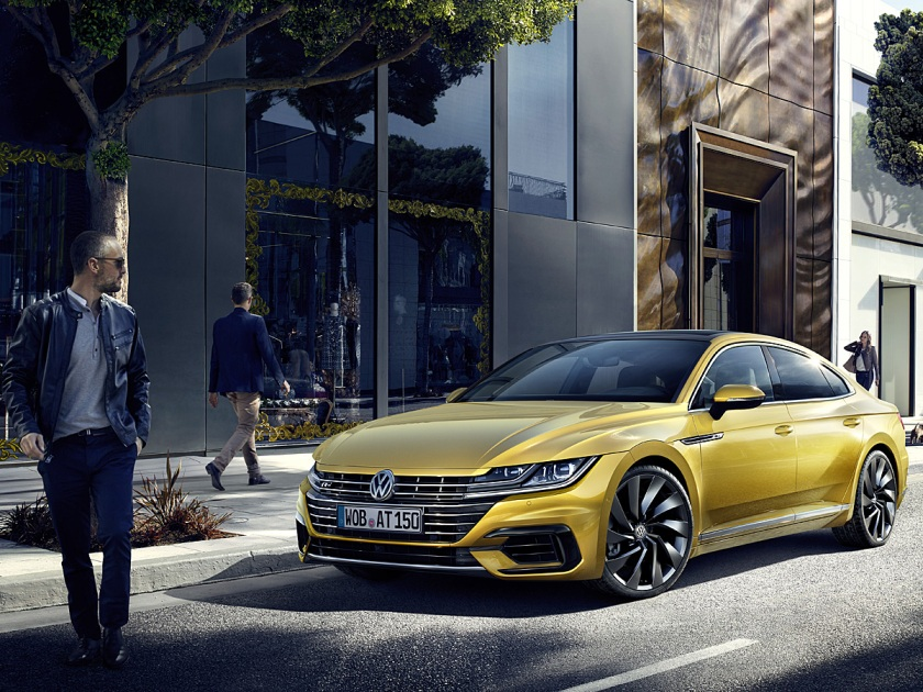 2018 Volkswagen Arteon R-Line in Yellow