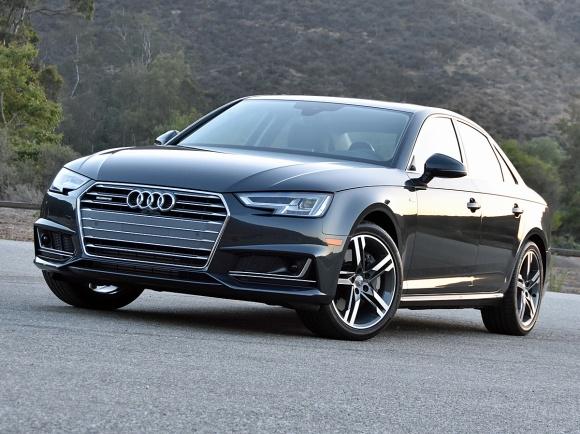 2017 Audi A4 Prestige in Black paint