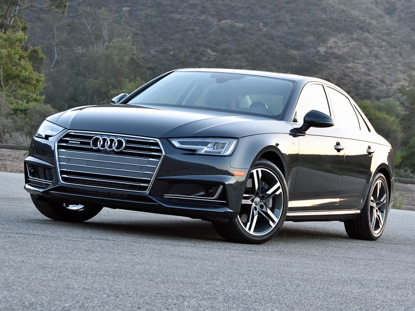 2017 Audi A4 Prestige in Black paint