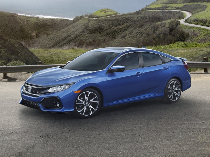 2017 Honda Civic Si Sedan in Blue