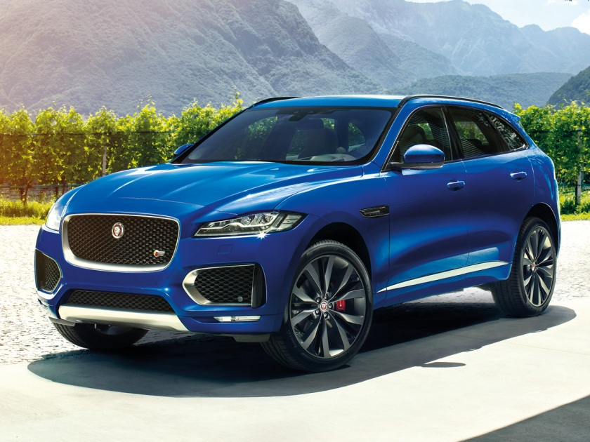 2017 Jaguar F-Pace in Blue