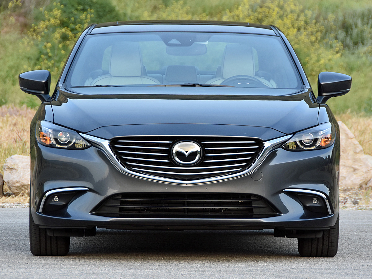 2017 Mazda Mazda6 Grand Touring in Machine Gray