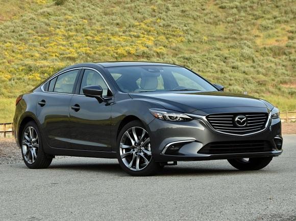 2017 Mazda Mazda6 in Machine Gray