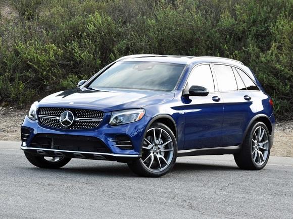 2017 Mercedes-AMG GLC43 in Blue