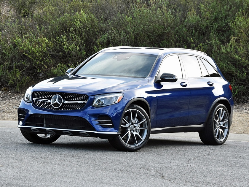 2017 Mercedes-AMG GLC43 in Blue