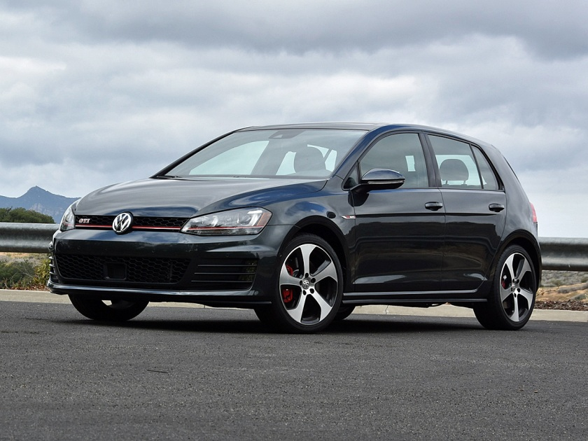 2017 Volkswagen GTI in Dark Gray