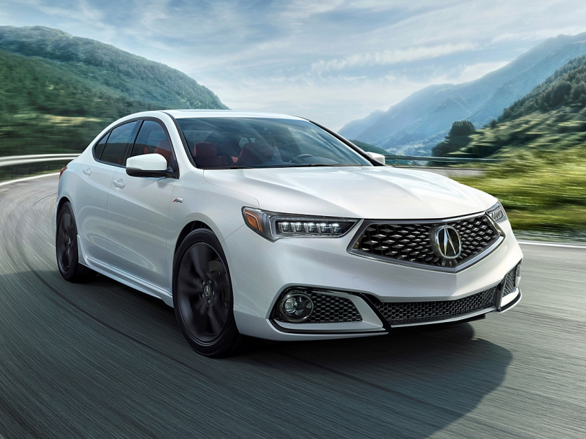2018 Acura TLX A-Spec in White