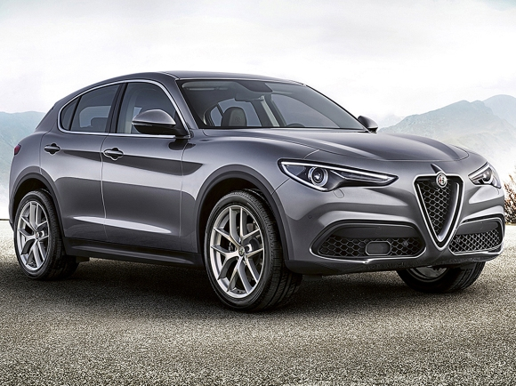 2018 Alfa Romeo Stelvio in Gray