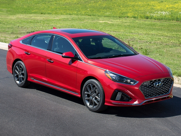 2018 Hyundai Sonata 2.0T Limited in Red