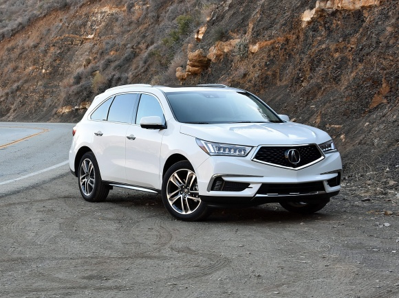 2017 Acura MDX Advance in White