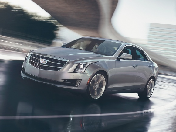 2017 Cadillac ATS in Gray