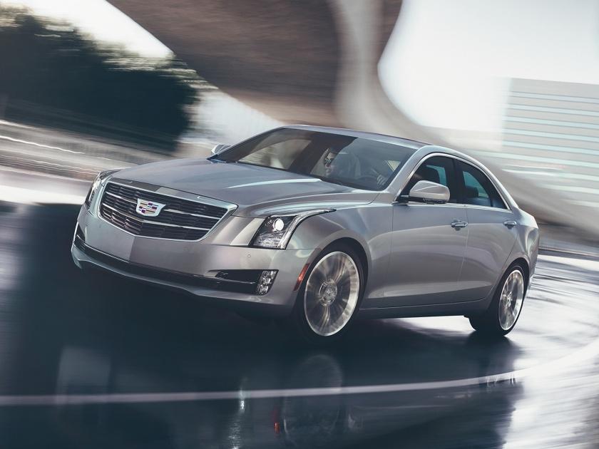 2017 Cadillac ATS in Gray