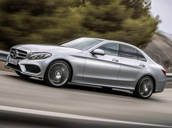 2017 Mercedes-Benz C300 Sport in Silver
